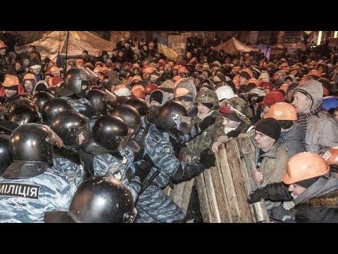 Ukrainian Political Violence Spurred by Cultural Divide