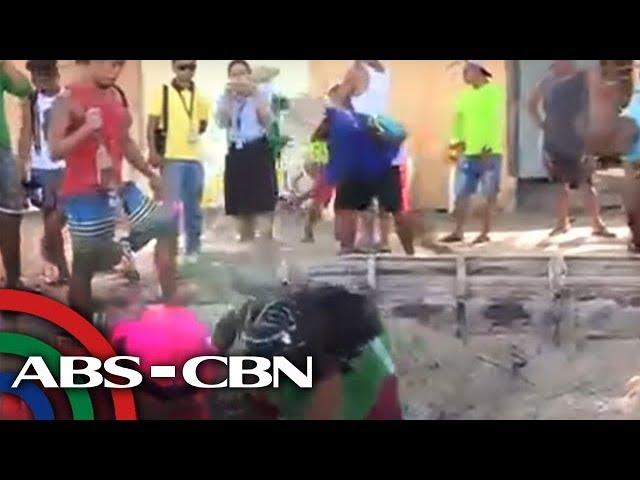 TV Patrol: Tubong naglalabas ng maruming tubig sa White Beach sa Boracay, hinukay na