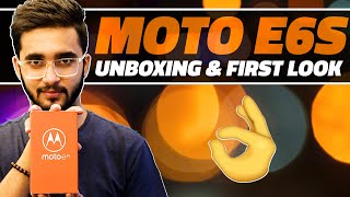 Moto E6S Unboxing and First Look - Meet the New Affordable Motorola Phone in Town