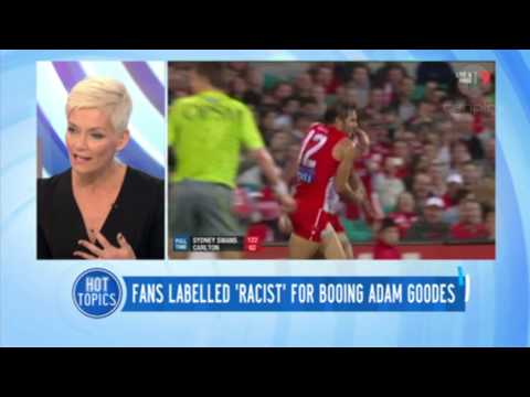 Fans Labelled Racist For Booing Adam Goodes