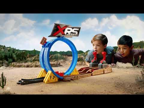 Disney•Pixar Cars: XRS Mud Racing Crash Challenge Playset   Mattel