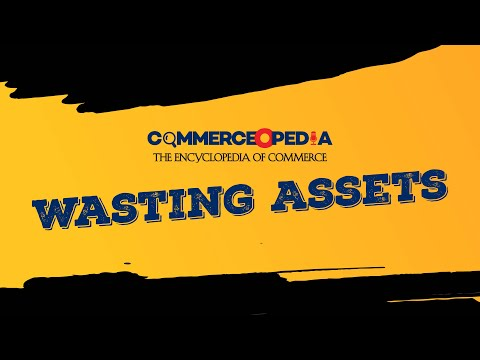 Wasting Assets | Accounts | Encyclopedia of Commerce | CommerceOPedia | Commercedge