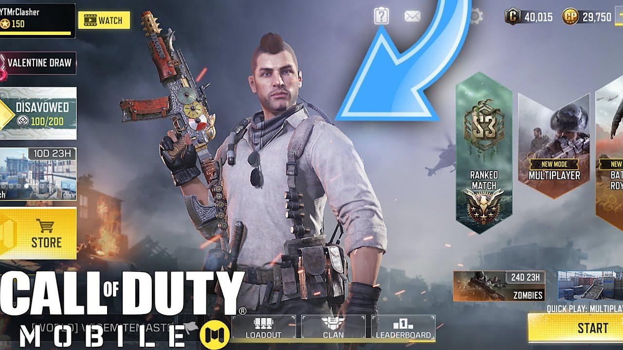 Call Of Duty Mobile Unlocking Soap Character Epic Rus 79u Viking Skin Youtube