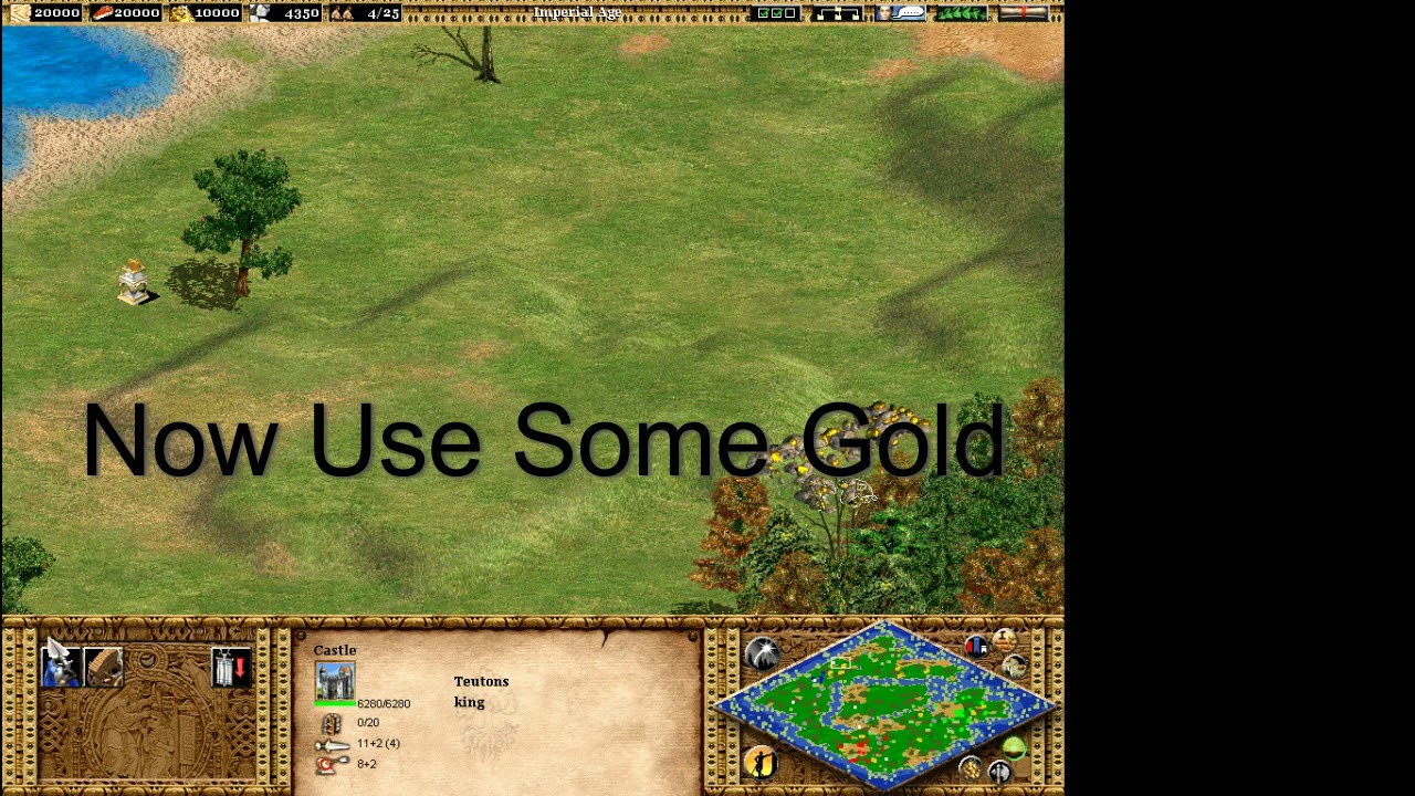 How to hack age of empires 2 with cheat engine(Gold)- Part 1