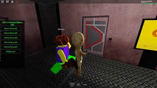 """SCP 173 """"Sorts out"""" SCP 106 