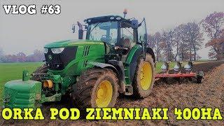 Orka Pod Ziemniaki 400ha ☆ [Vlog #63] z Piotrem ☆ Nowe Gospodarstwo