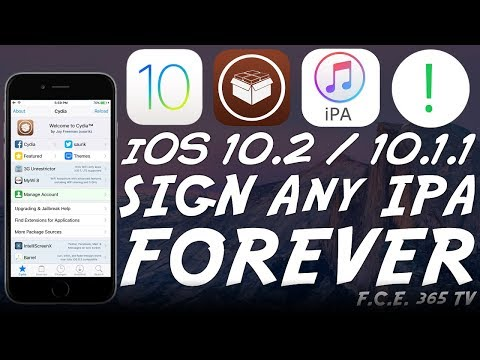 iOS 10.2 Jailbreak - How to Sign iPAs Forever (Immortal Explained)