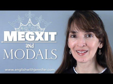 Megxit and Modals of Necessity ????? English Grammar