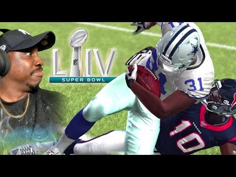 PLAYING IN SUPER BOWL 54! Madden Mobile 20 Season Mode Gameplay Ep. 12