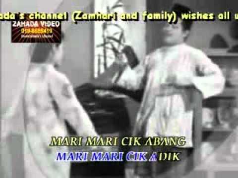 JOGET SIPINANG MUDA (KARAOKE) P.Ramlee & Normadiah versi piring hitam