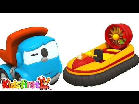Leo the Cartoon Truck - HOVERCRAFT - Children