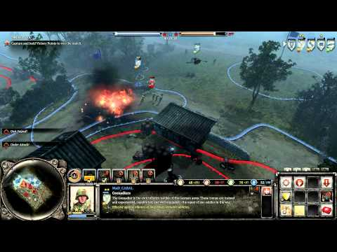 Company of Heroes 2 Theater of War Challenge Case Blue DLC Kharkov Pursuit on General difficulty