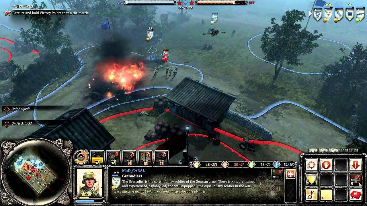 Coh 2 Case Blue : Company of heroes millenium