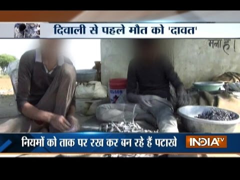Minors Working At Illegal Cracker Factory Busted In Firozabad