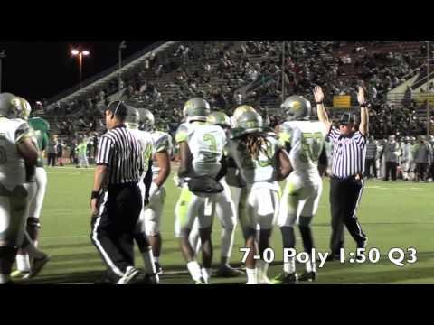 High School Football: Long Beach Poly vs LB Cabrillo 2013