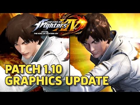 The King of Fighters XIV - Patch 1 10 Graphics Update Comparison