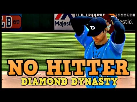 NOLAN RYAN THROWS A NO HITTER!! MLB 15 THE SHOW DIAMOND DYNASTY!
