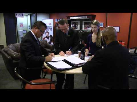 Behind the scenes at the Ottawa Centre candidates debate at Rogers Television