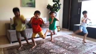 Engine ki seeti mein dance video l funny kids Dance l Dance With Me academy delhi