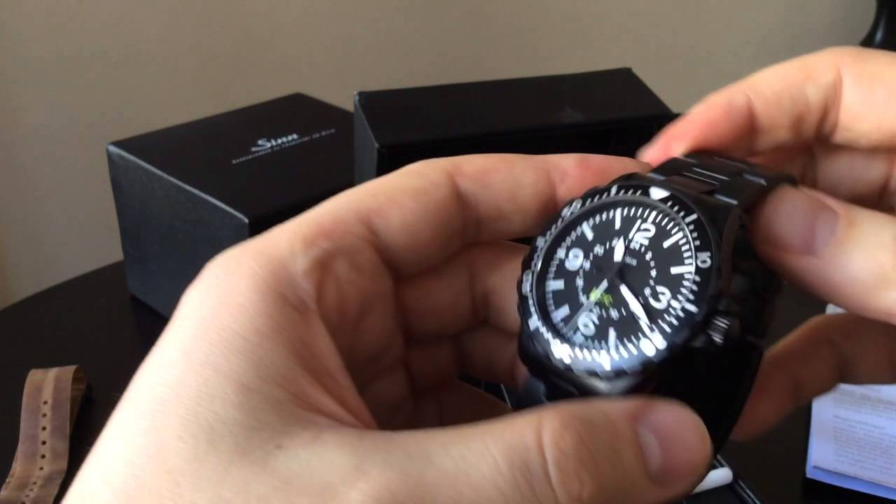 watch review unboxing sinn 857 utc s youtube