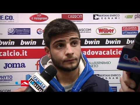 Padova - Pescara 0-6, le interviste - Lorenzo Insigne (attaccante Pescara)