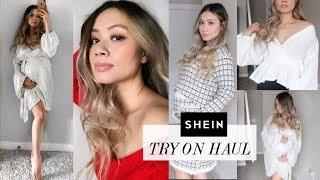 Shein Try-On Haul (bump friendly) | HAUSOFCOLOR
