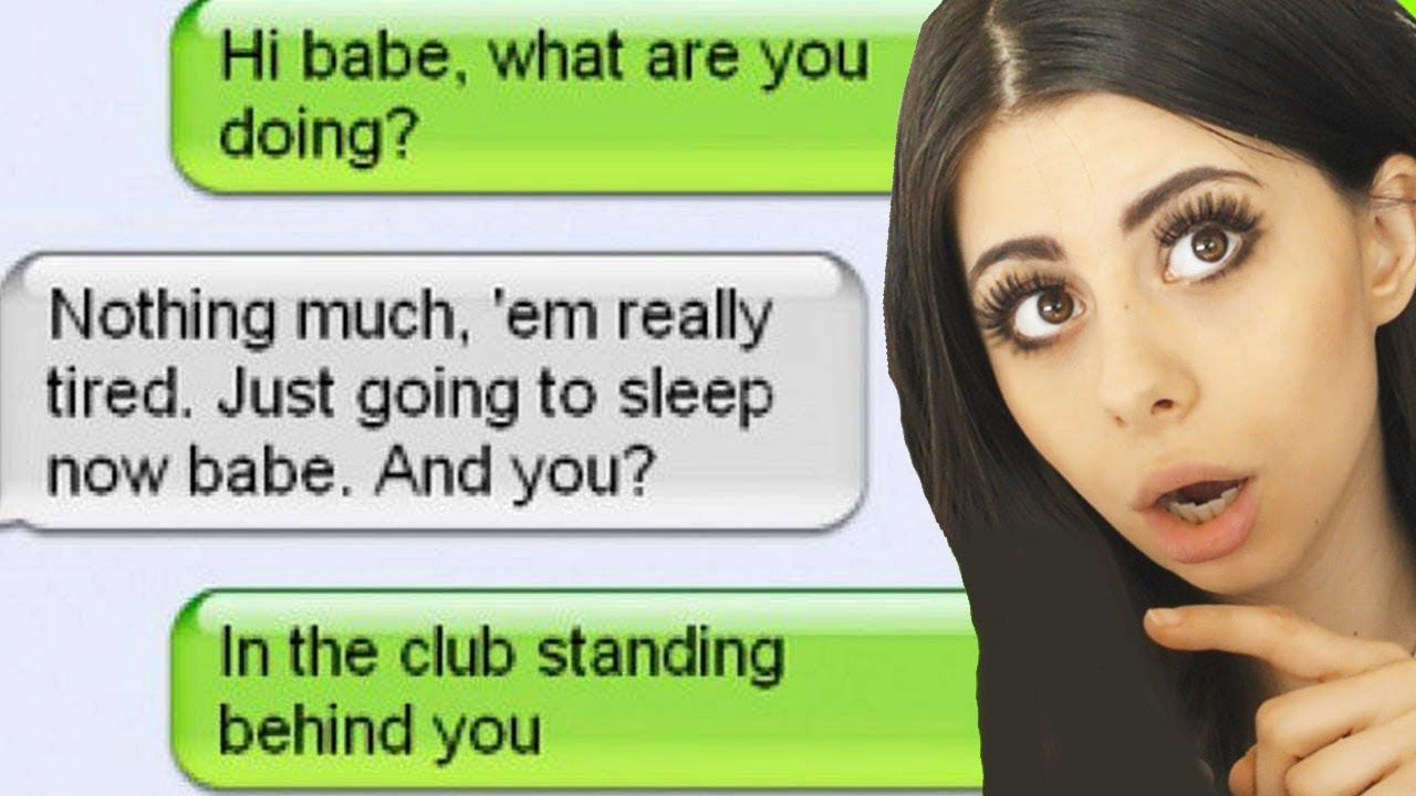 People CAUGHT CHEATING OVER TEXTS!