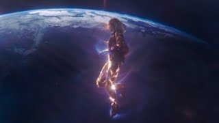 Captain Marvel Powers and Abilities Scene