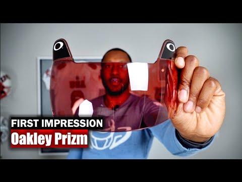 Oakley Prizm Football Visor: First Impression