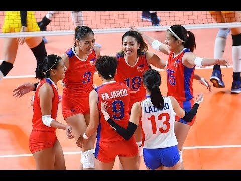 Philippines Vs Kazakhstan Volleyball Updates (Scores And Statistics) - Asian Games 2018