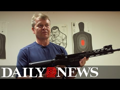 Gun shop owner talks AR-15