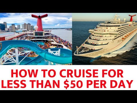How To Book A Cheap Cruise For $50 Per Day (2019)