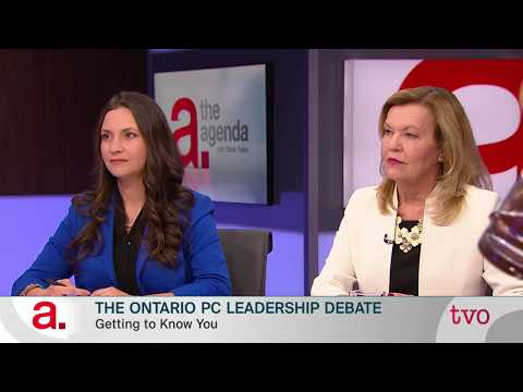 The Ontario PC Leadership Debate