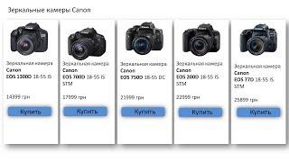 Обзор актуальной линейки любительских зеркальных камер Canon (EOS 1300D, 700D, 750D, 200D, 77D)