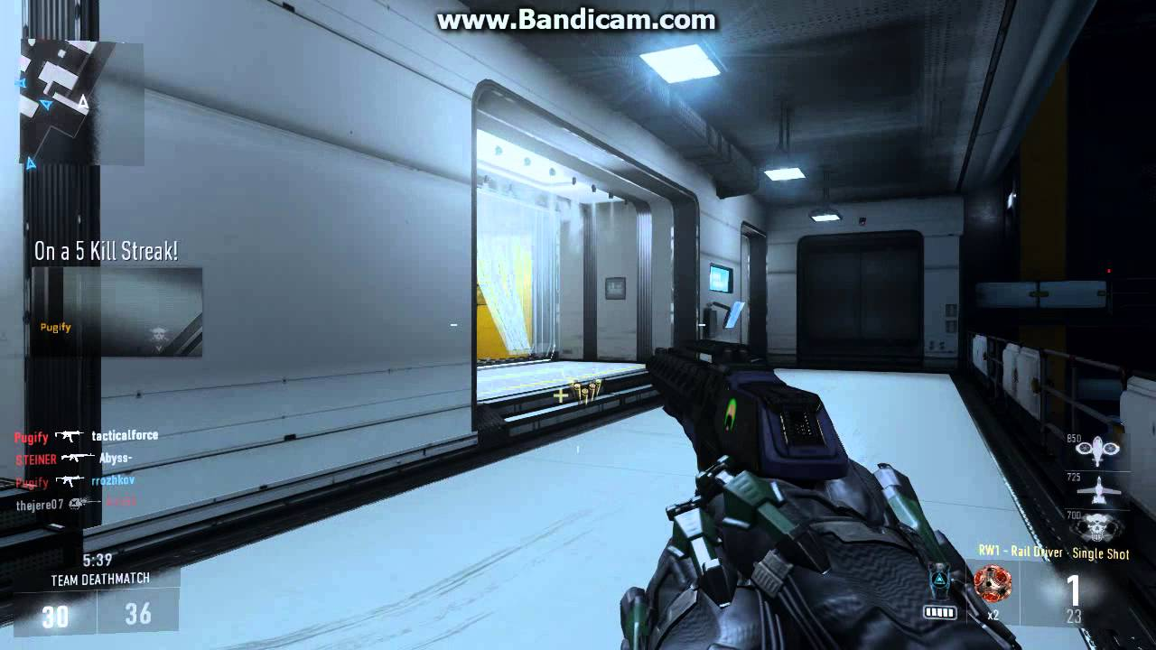Call Of Duty Advanced Warfare Rw1 Rail Driver Play