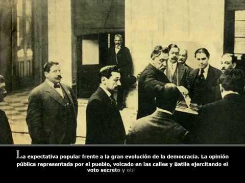 José Batlle y Ordóñez el conductor del Partido Colorado 7/12