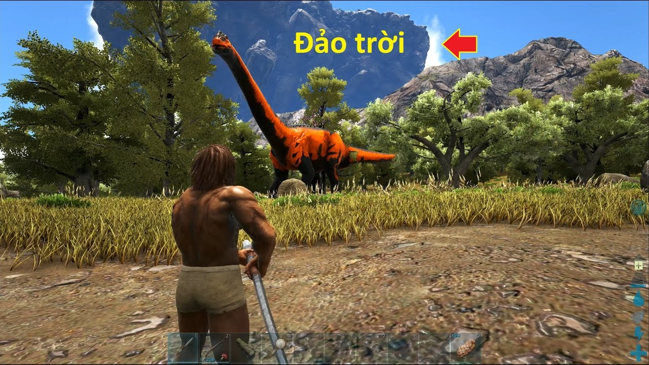 ARK: Valhalla #1 - Khám phá đảo trời Valhalla, nơi sinh sống của Rồng (Map mới)