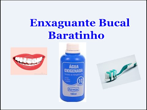 Beneficios Da Agua Oxigenada Na Boca Youtube