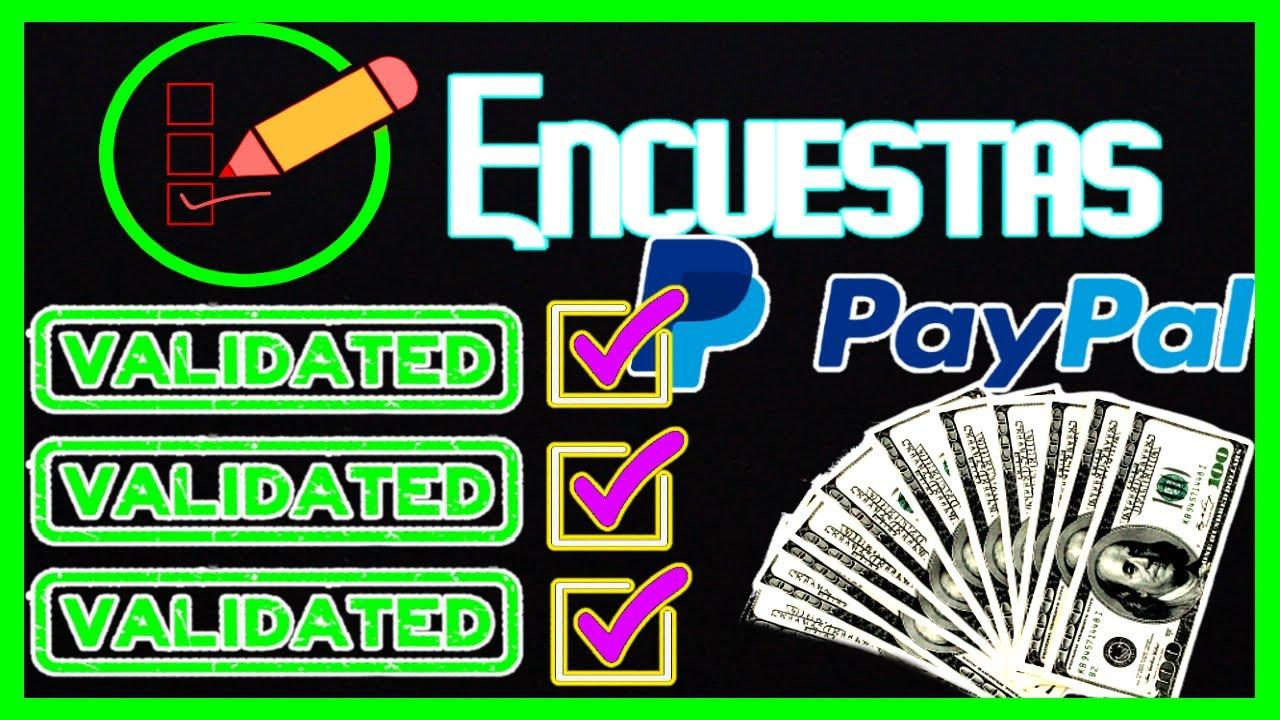 ✅ A Estas Encuestas SI CALIFICAS 💯 Dinero Para PayPal