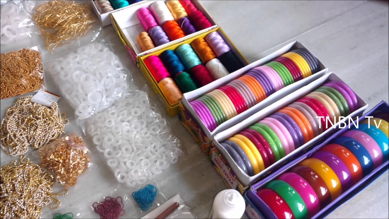 silk thread earrings making materials,silk thread bangles ...