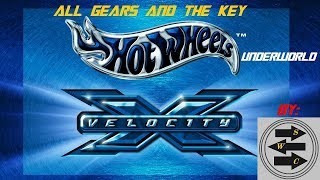 Hot Wheels Velocity X - Gameplay - Joyride - Underworld - All Gears And The Key