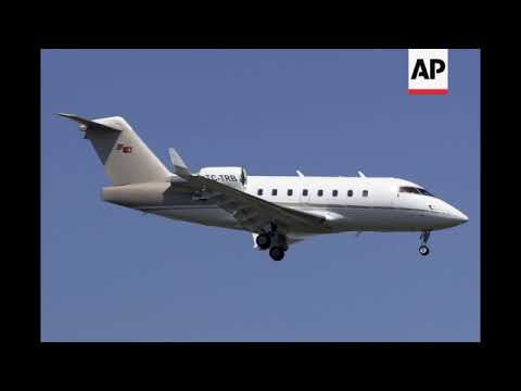 STILL of Turkish private jet that crashed in Iran, killing 11 people on board