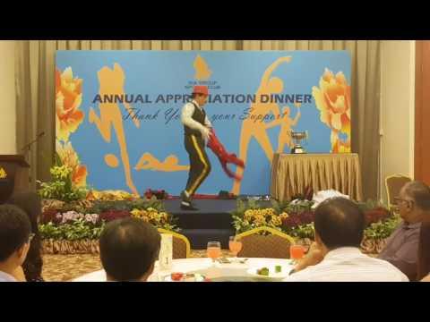 Rico Chandra 27/7/2017 Awards Ceremony  SIA SPORTS CLUB Singapore