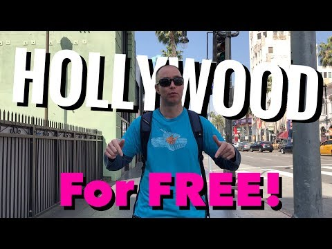 How To Do Hollywood For FREE!