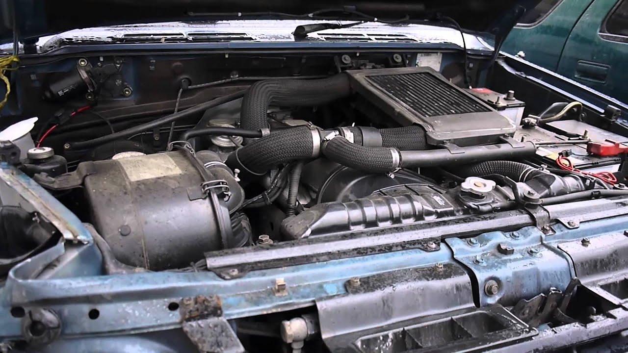 Mitsubishi Pajero 2.5L 4D56 Diesel - YouTube