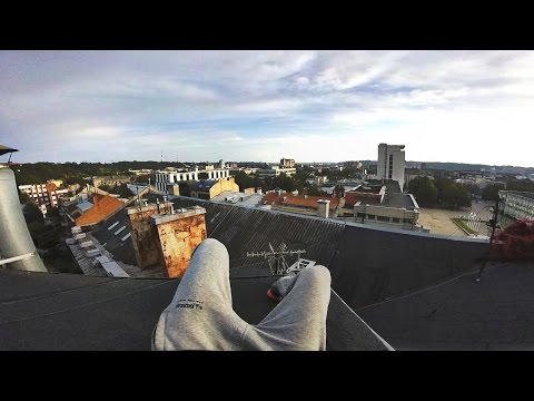 Kaunas City Rooftops | POV Exploration