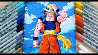 Could you do something like this with goku as well? Goku Luffy Naruto Youtube
