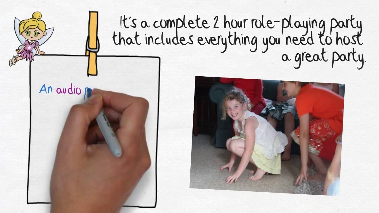 IDEA FOR A KIDS PARTY AT HOME | 6-10 Year Olds | Acting the Party ...