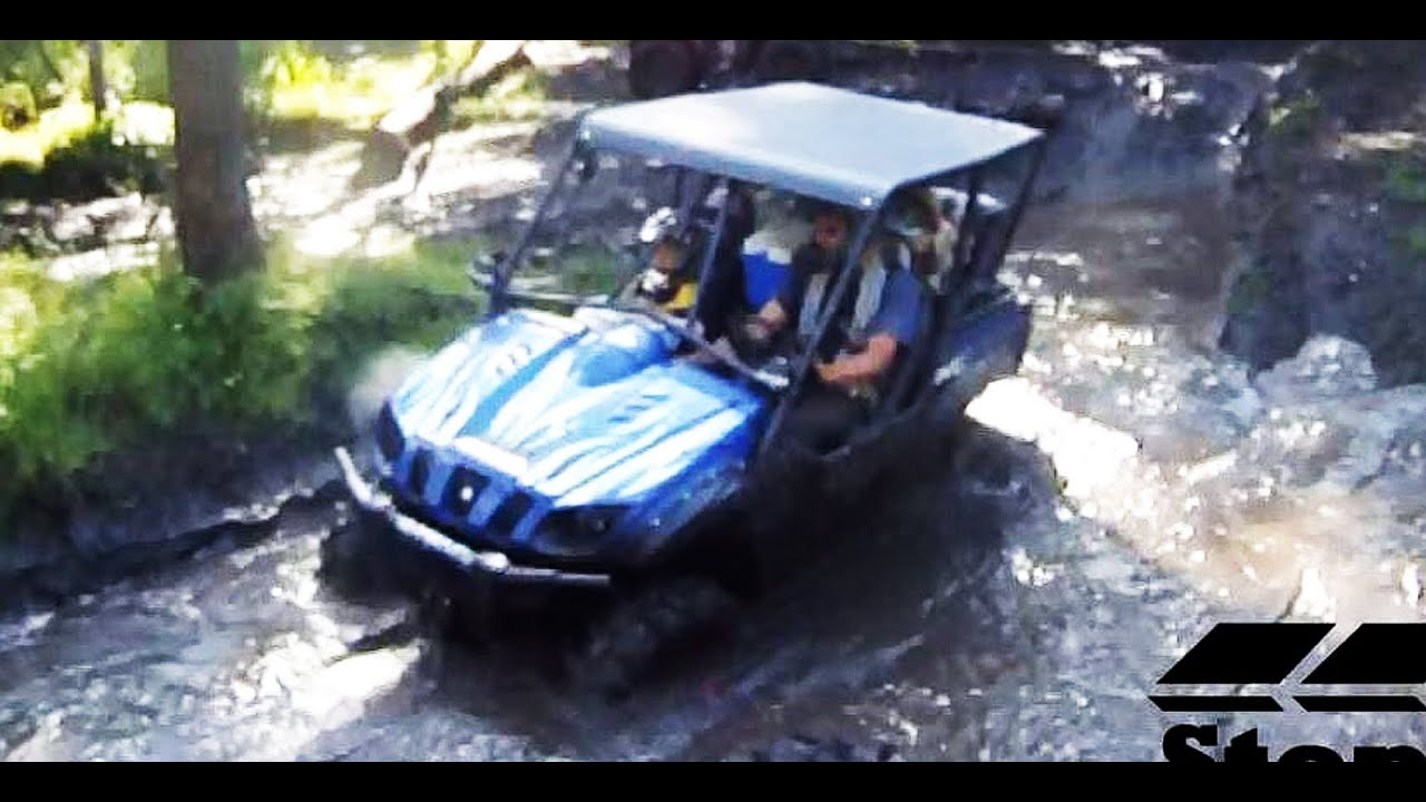 Yamaha Rhino 4 Seater Side By Side 4x4 Mudding Youtube