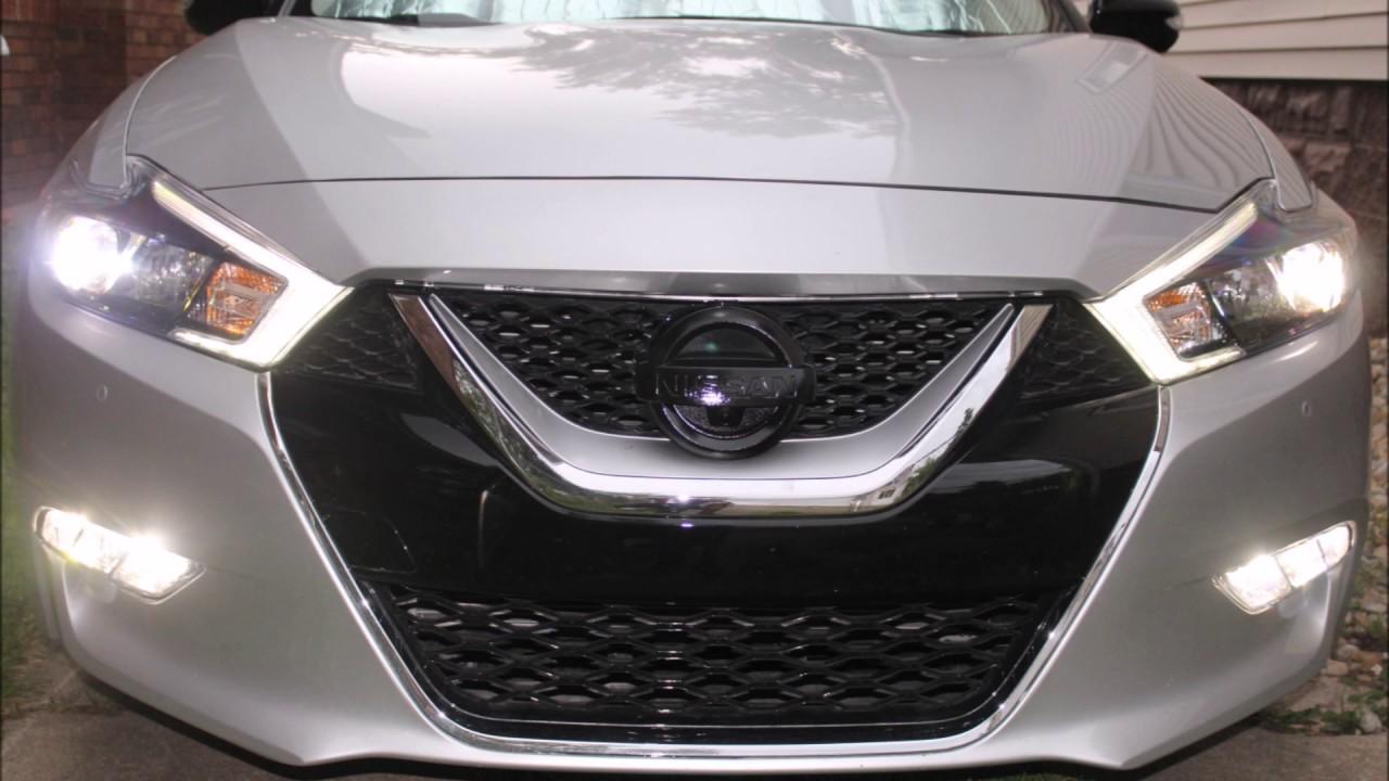 2016 Nissan Maxima Led Fog Lights